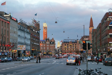 Denmark's capital, Copenhagen.