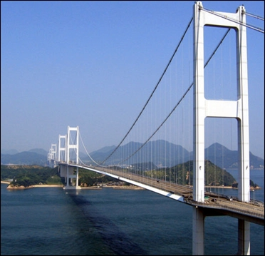 Third Kurushima-Kaikyo Bridge.