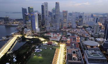 Singapore scores 8.68 points.
