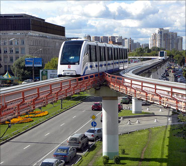 Moscow Monorail.