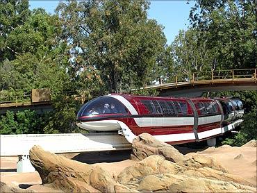 Disneyland Monorail System.