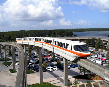 Walt Disney World Monorail System.