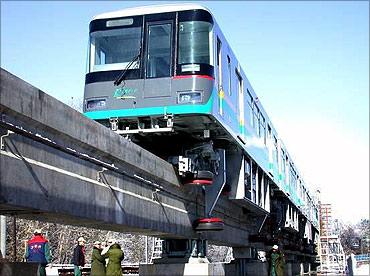 Chongqing Monorail.