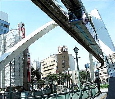Chiba Urban Monorail.