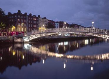 A view of Dublin.