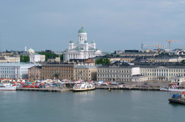 Helsinki, capital of Finland.