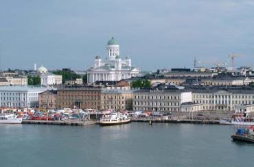 Helsinki, capital of Finland.