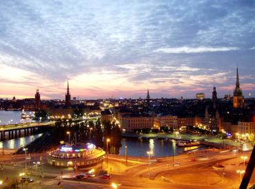 Stockholm, capital of Sweden.