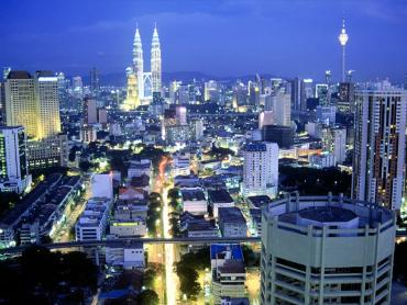 A view of Kuala Lumpur.