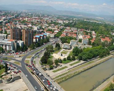 A view of Skopje, capital of Macedonia.
