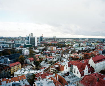 Tallinn, capital of Estonia.