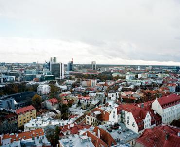 Tallinn, capital of Estonia.