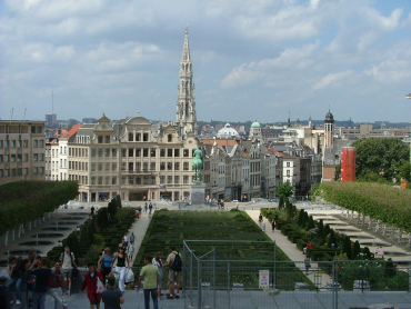 Brussels, capital of Belgium.