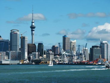 A view of Auckland.