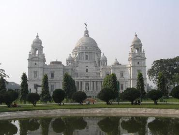 Victoria Memorial in Kolkata.