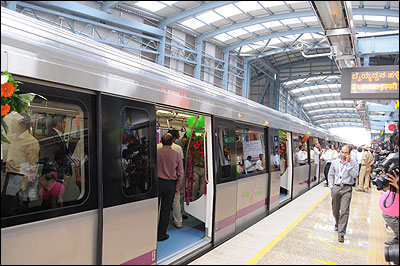 Bangalore Metro.