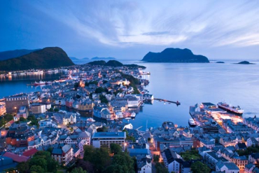 Norway's unemployment rate is 9.3 per cent.