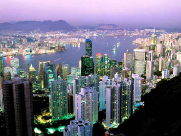 Hong Kong handles more than 21 million containers.