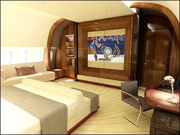 Boeing 787 VIP Interior Concept