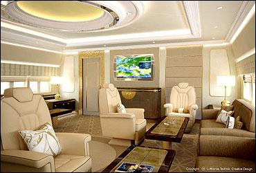 747-8 VIP Concept Interior.