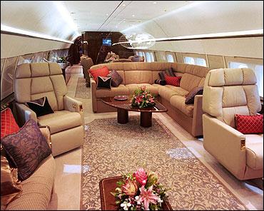 BBJ interior concept.