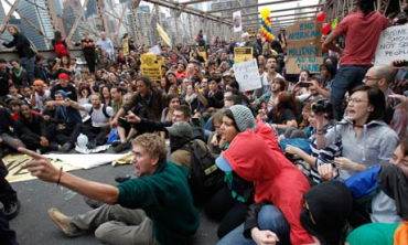 OWS is a protest against the global financial system.