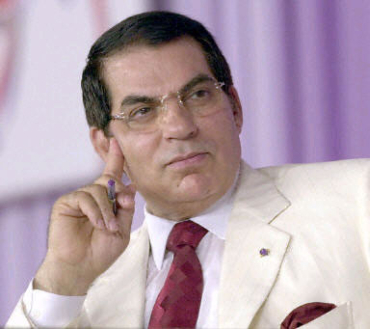 President Ben Ali had to flee Tunisia.