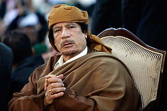 Gaddafi was killed.