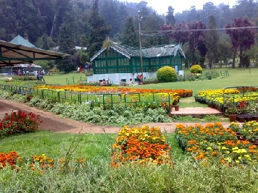 The beutiful town of Ooty.