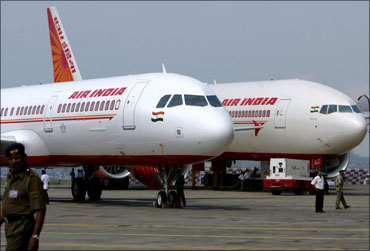 Air India aircraft.