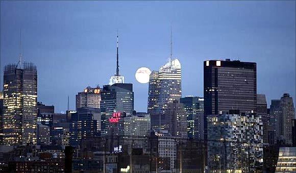 Midtown Manhattan.