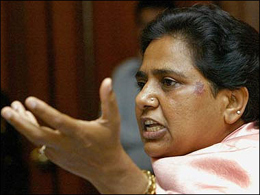 Nazarwala says Mayawati quickly succumbed to the same ill that plagues politicians needing funds