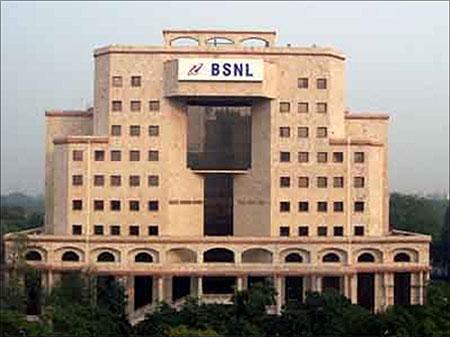 BSNL office.