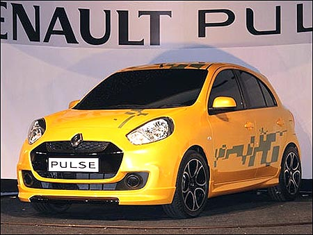 Catch a glimpse of the NEW Renault Pulse