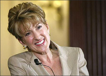 Carly Fiorina, former chairman and CEO of Hewlett-Packard.