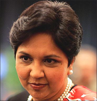 PepsiCo CEO, Indra Nooyi.