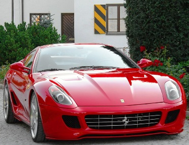 Ferrari 599 GTB Fiorano.