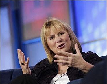 Yahoo's fired chief executive officer Carol Bartz.