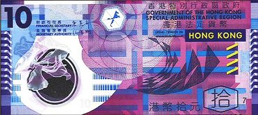 The Hong kong dollar.