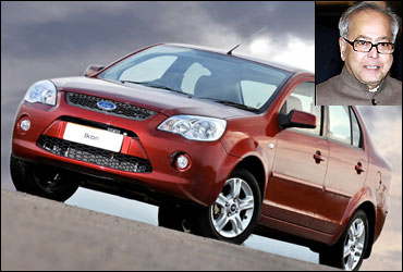 Pranab Mukherjee owns Ford Ikon. The picture is for representation purpose only.