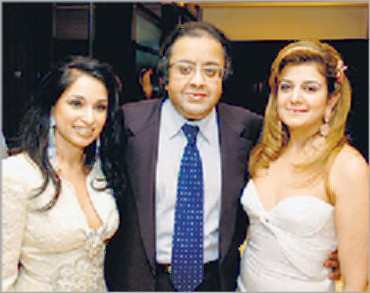 Filephoto: Michele Norsa of Valentino, Sheetal Mafatlal with Atulya Mafatlal