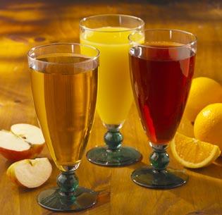 Fruit juice.