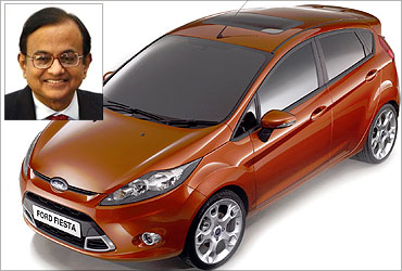 P Chidambaram has three cars.