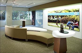 Hewlett Packard saw revenue of Rs 8,634 crore.