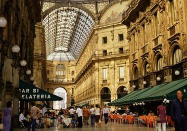 A market in Milan.
