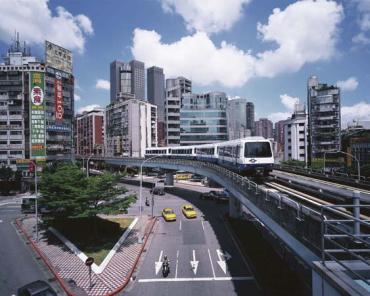 Modern Taipei.