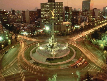 A view of Mexico City.