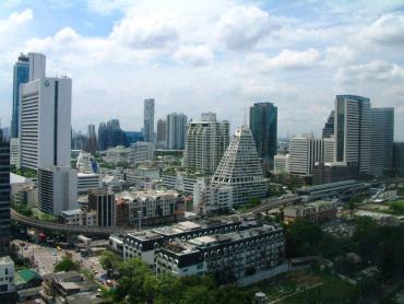 A view of Bangkok.