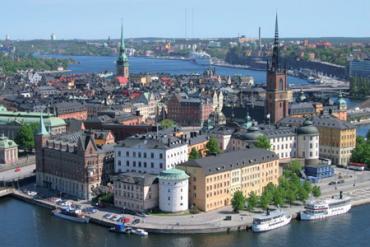 Sweden's capital Stockholm.