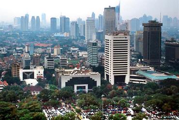 Indonesia's capital Jakarta.